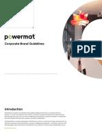 Powermat Corporate Brand Guidelines