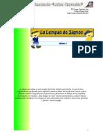 Tema 5 La Lengua de Signos
