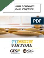 Manual de Uso GES Para El Profesor