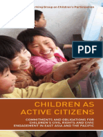 Children as Active Citizens Brochure