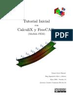 Tutorial Inicial Con Calculix y FreeCAD (Modulo FEM) (1)