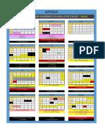 Calendario Academico Anual Maringa 2017