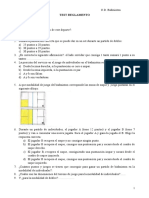 Test Reglamento Badminton