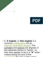 Radial and v Engine