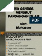 Isu Gender Dalam Islam