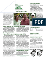 September 2006 Along the Boardwalk Newsletter Corkscrew Swamp Sanctuary