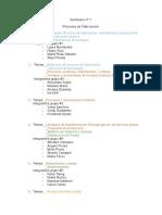 Seminario nº 1 procesos de fabricaciòn temario y asignaciones RT 1.doc
