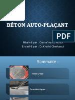 Béton Auto-plaçant