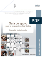 Guia examen de diagnostico