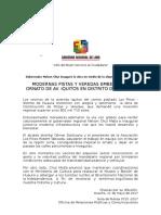 N 0725 Gobernador Inauguró Pistas y Veredas en Av. Iquitos Distrito de Huaura