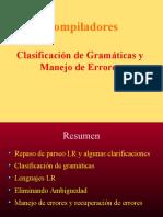 Clasificacion de Gramaticas