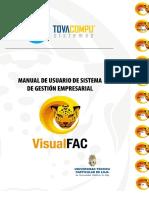 Manual de Usuario de Sistema de Gestion Empresarial Visual Fact