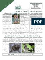March 2008 Along the Boardwalk Newsletter Corkscrew Swamp Sanctuary