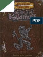 D&D 3.5 Kingdoms of Kalamar Campaign Setting