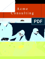 Acme Consulting Sample Business Plan