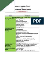 Ulg International Content Proposal