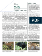 December 2009 Along the Boardwalk Newsletter Corkscrew Swamp Sanctuary
