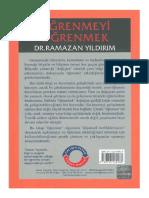 Ramazan Yıldırım Öğrenmeyi Öğrenmek .pdf