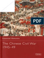 Michael Lynch - The Chinese Civil War 1945-49 (Essential Histories #61)