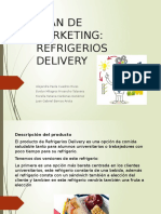 Plan de Marketing- Refrigerios Delivery