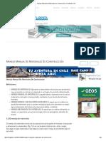 Manejo Manual de Materiales de Construcción _ CivilGeeks