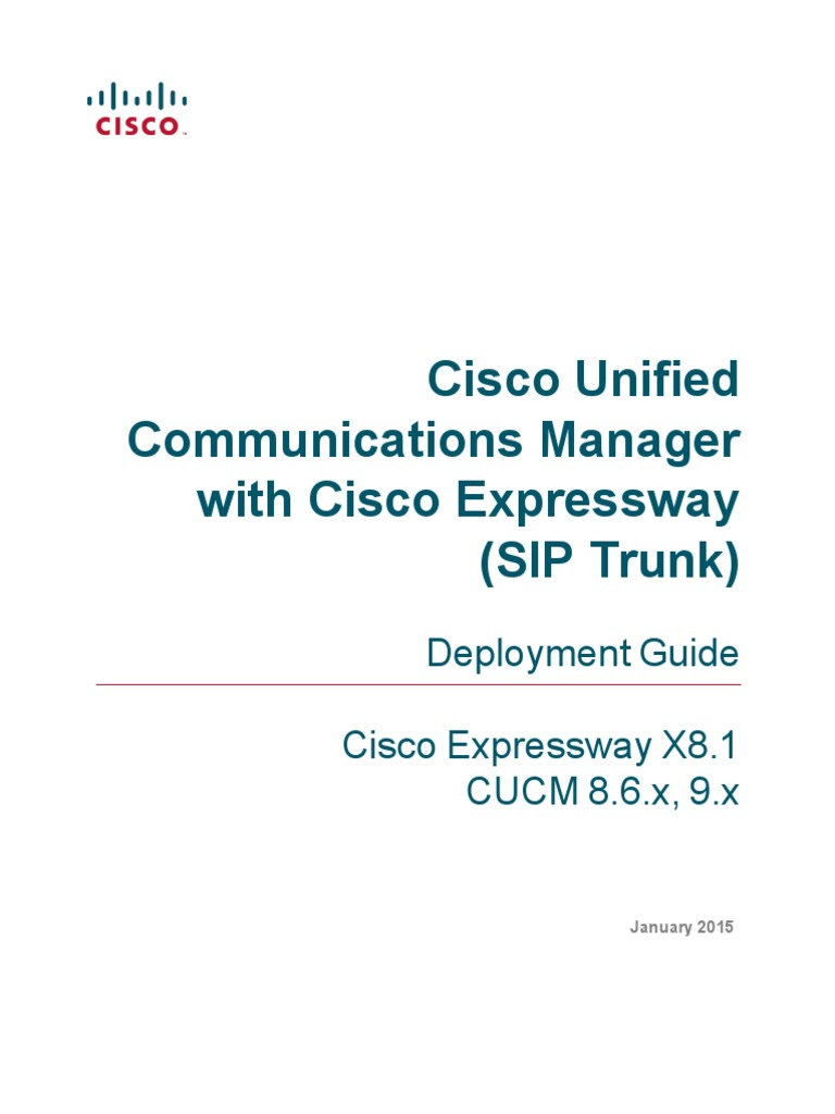 Cisco Sip Trunking Book