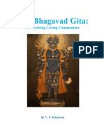 The Bhagavad Gita - An Evolving Loving Commentary