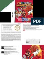 Manual NintendoDS MarioSlamBasketball ES