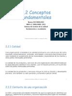Conceptos Fundamentales de ISO-9000