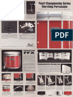 1990 Pearl Championship Series Marching Percussion Supplement - Spreads