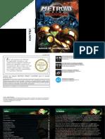 Manual NintendoDS MetroidPrimeHunters ES