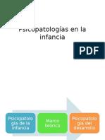 Psicopatologías en La Infancia