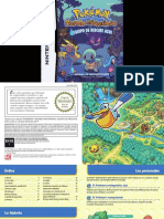 Manual NintendoDS PokemonMysteryDungeonBlueRescueTeam ES