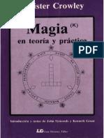 Aleister Crowley Magia en Teoria y Practica