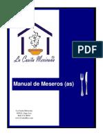 Manual de Meseros