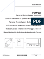 Psm200 User Guide Portuguese