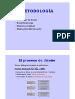 Metodología de Diseño Proceso