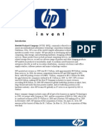 WAC-HP  Business Strategy Analysis