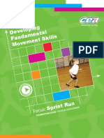 Developing Fundamental Movement Skills - Focus Sprint Run - Foundation Stage (crianças).pdf