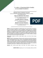 Castro Et Al., 2009. Percepções Sobre o Programa Bolsa Família Na Sociedade Brasileira