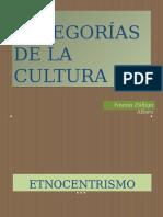 Categorías de La Cultura