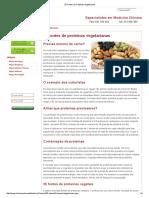 25 Fontes de Proteínas Vegetarianas