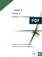 Lectura 2 – La Organización.pdf