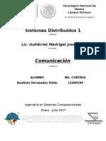 Unidad 3 Comunicacion Sistemas Distribuidos 1