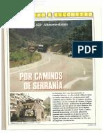 Revista Tráfico - nº 69 - Septiembre de 1991. Reportaje Kilómetro y kilómetro