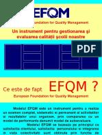 Modelul EFQM (Propunere de Aplicare)