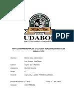 Informe de Laboratorio 2 Ok modelo udabol quimica general gas y petróleo