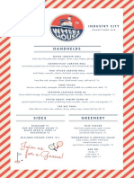 Wheelhouse Menu
