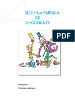 Actividades Proyecto Charlie y La Fabrica de Chocolate