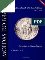 E Book Catálogo de Moedas Do Brasil Republica 2017 Amostra Grátis